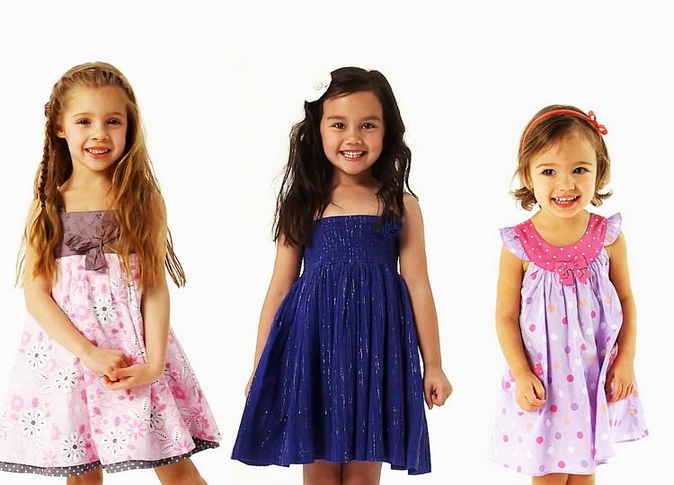 Магазин детских летние платья